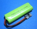 ROBIN 受信機用 NiMh 4.8V 300mAh 平長型 緑