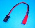 ROBIN サーボコネクターオス=JSTメス 変換ケーブル 10cm