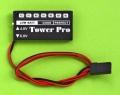 Tower Pro バッテリーチェッカー (4.8V/6.0V) 白