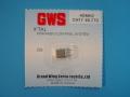 【50円】GWS 4・6CH受信機専用 40M帯 マイクロクリスタル