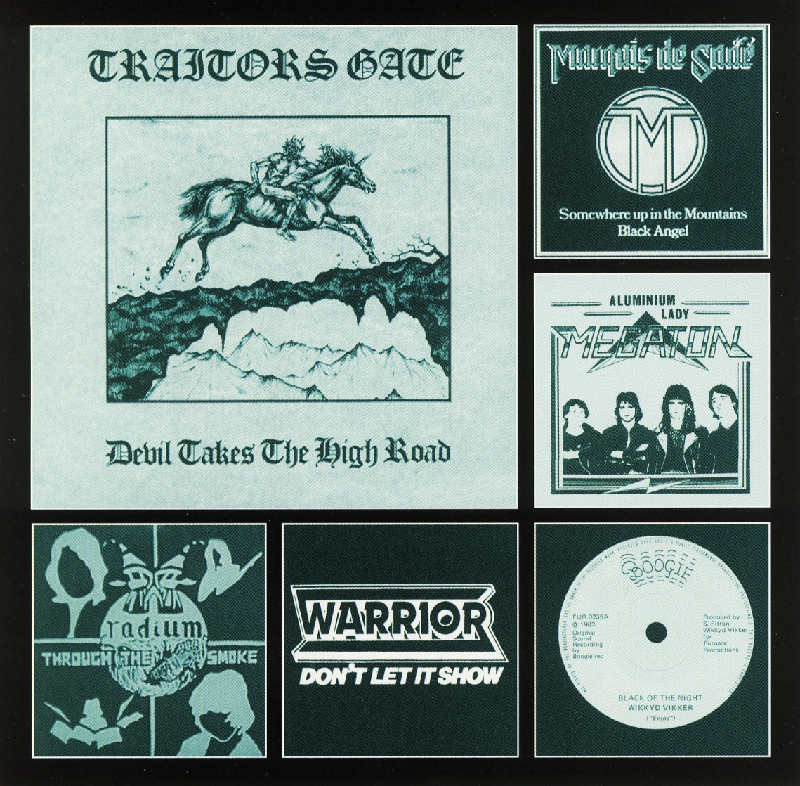 V.A. / Heavy Metal Obscurities The Vinyl Years - N.W.O.B.H.M. Vol. 1 (collector's item)
