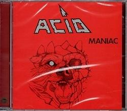 ACID (Belgium) / Maniac + 3 (2015 reissue)