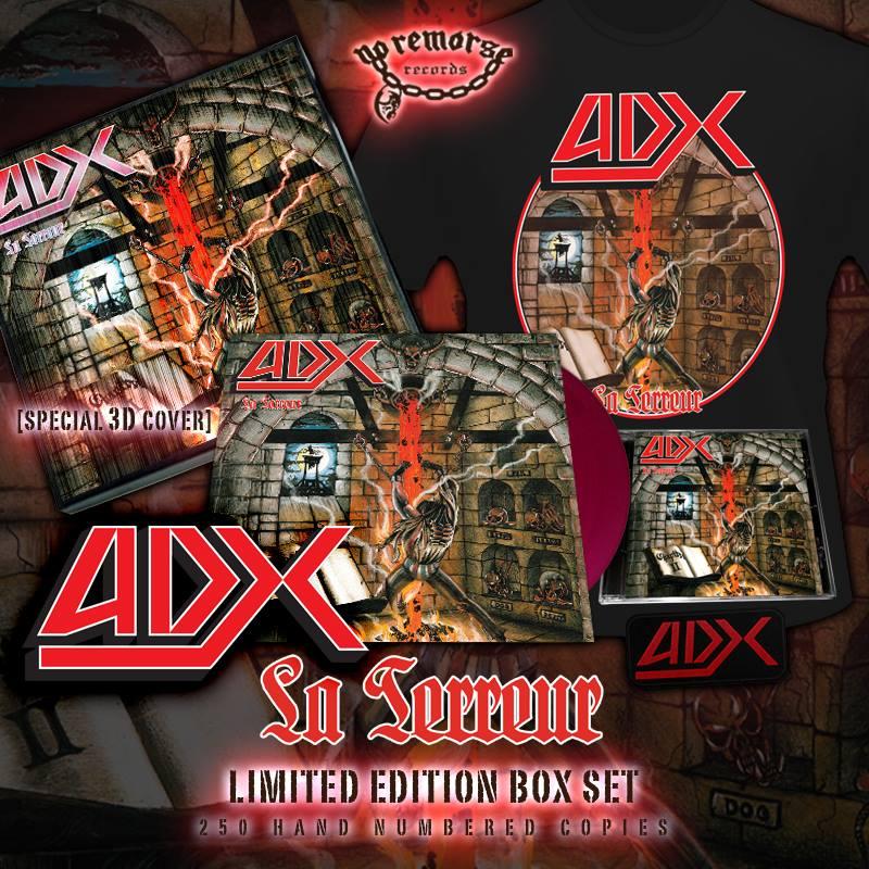 ADX (France) / La Terreur + 7 (Limited box set)