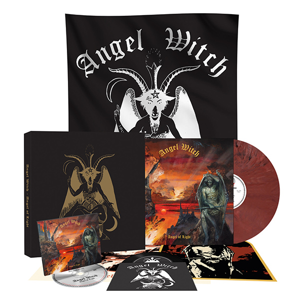 ANGEL WITCH (UK) / Angel Of Light (Deluxe box set)