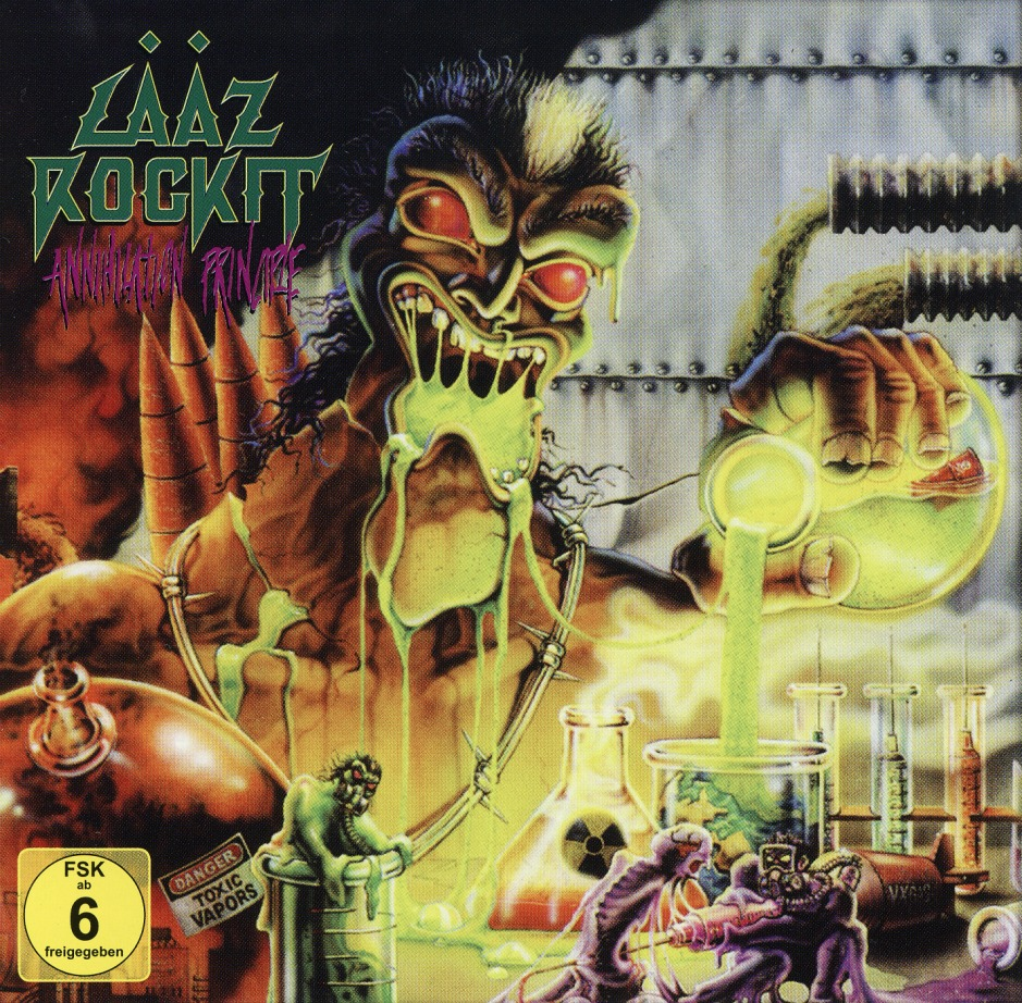 LAAZ ROCKIT (US) / Annihilation Principle (CD+DVD)
