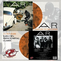 "ATTENTAT ROCK (France) / Attentat Rock + 1 (12"" colour LP)"