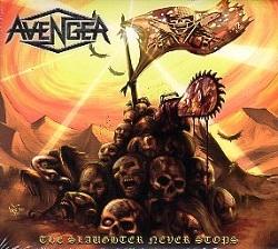 AVENGER (UK) / The Slaughter Never Stops (2018 edition)