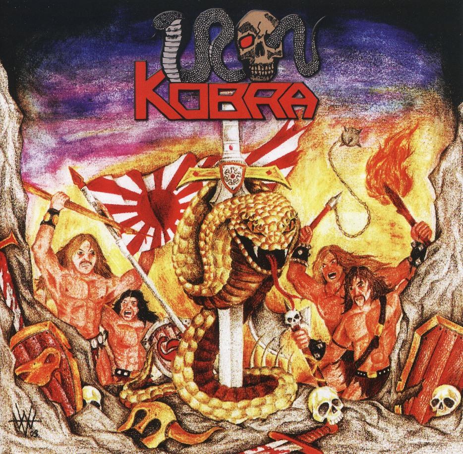 IRON KOBRA (Germany) / Battlesword (12 tracks)