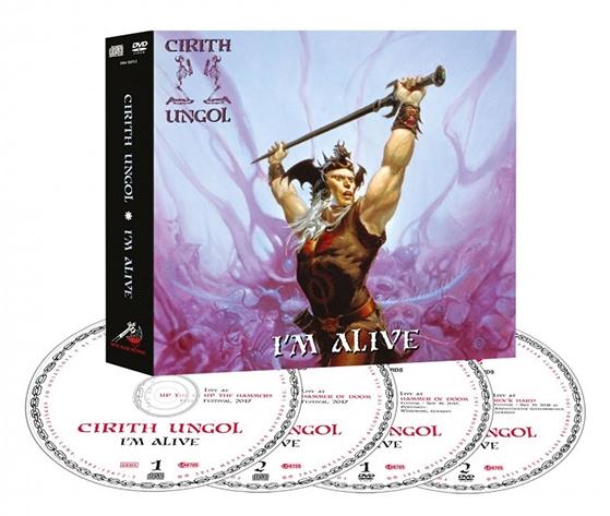 CIRITH UNGOL (US) / I'm Alive (2CD+2DVD)