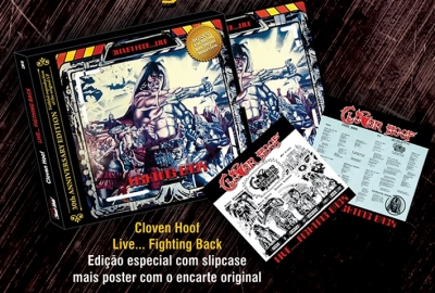 CLOVEN HOOF (UK) / Fighting Back + Interview (30th Anniversary Edition with slipcase & poster)