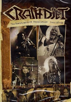 CRASHDIET (Sweden) / The Unattractive Revolution Tour 07-08 (DVD)