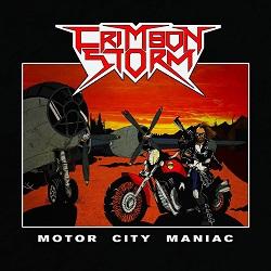 CRIMSON STORM (Italy) / Motor City Maniac