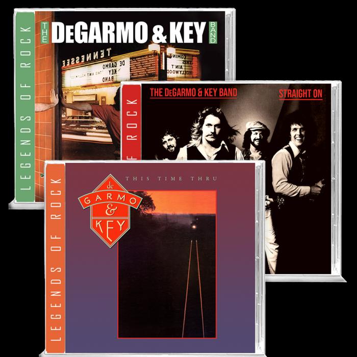 DEGARMO & KEY (US) / This Time Thru + Straight On + This Ain't Hollywood (お得なセット販売!)
