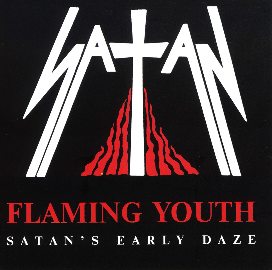 SATAN (UK) / Flaming Youth - Satan's Early Daze