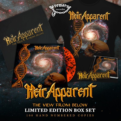 HEIR APPARENT (US) / The View From Below (Limited box set)