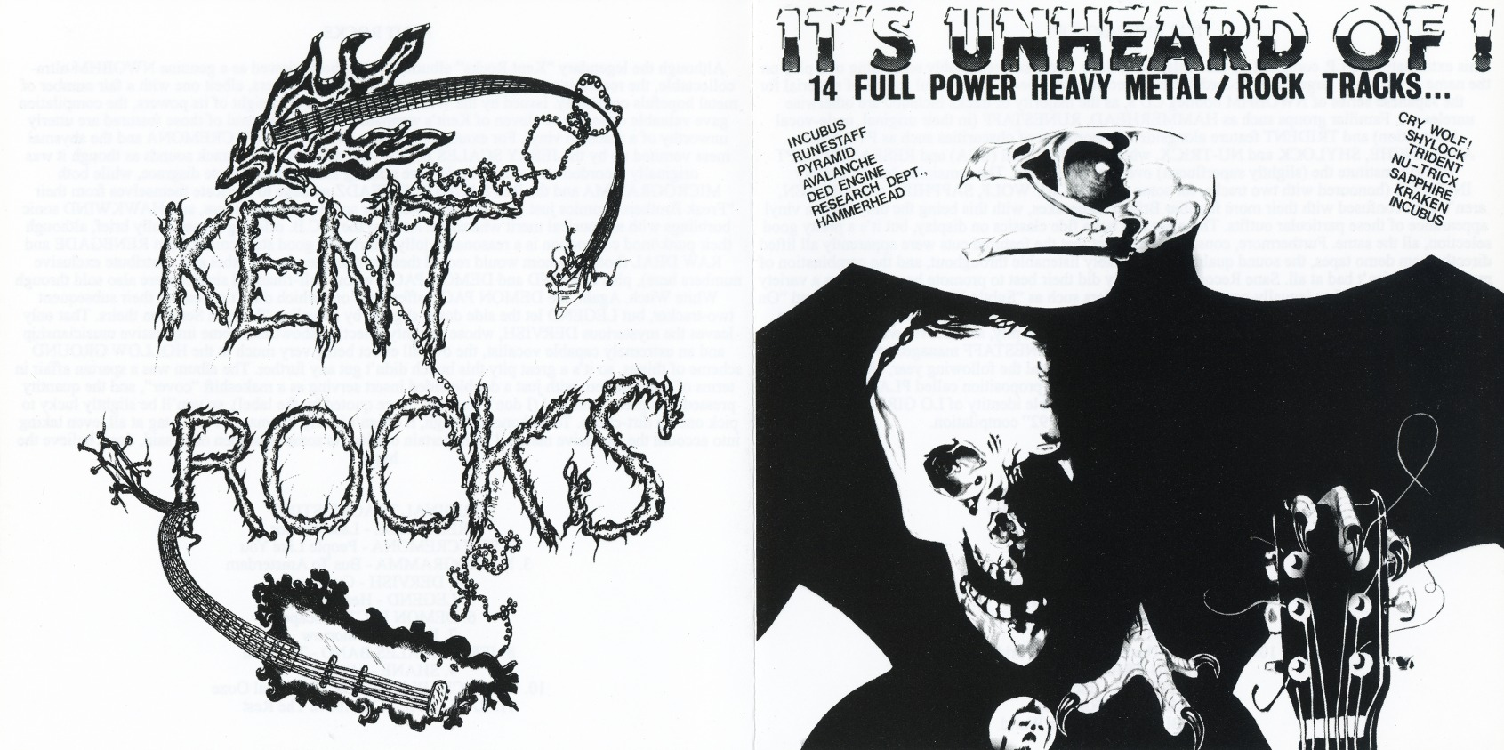 V.A. / Kent Rocks + It's Unheard Of! (collector's item)
