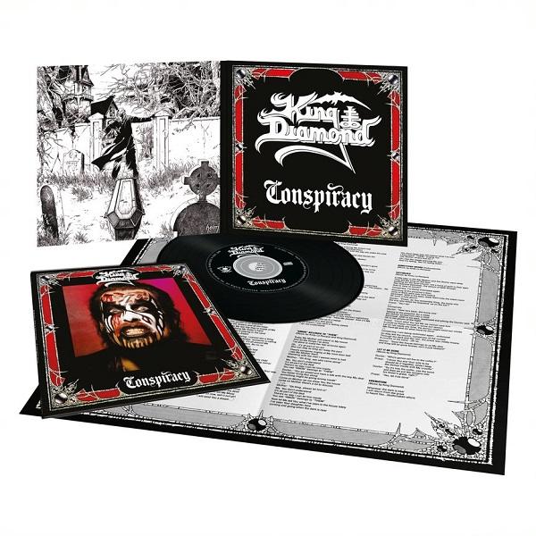 KING DIAMOND (Denmark) / Conspiracy (2020 reissue digipak)