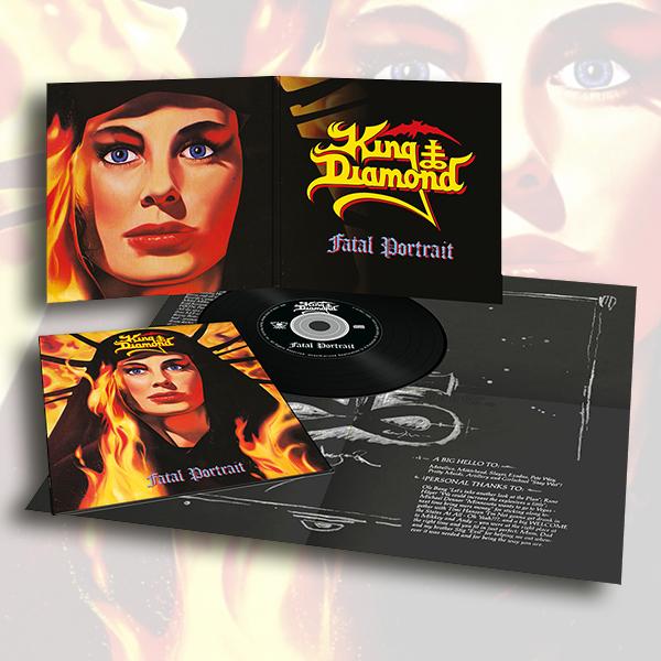 KING DIAMOND (Denmark) / Fatal Portrait (2020 reissue digipak)