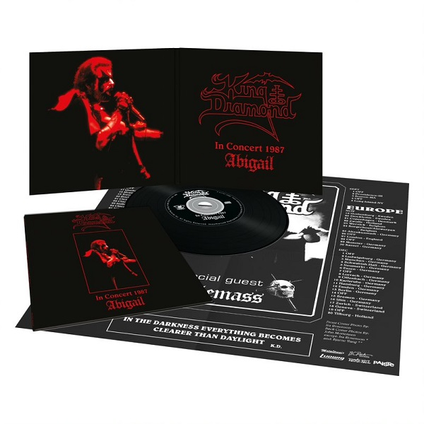 KING DIAMOND (Denmark) / In Concert 1987 - Abigail (2020 reissue digipak)