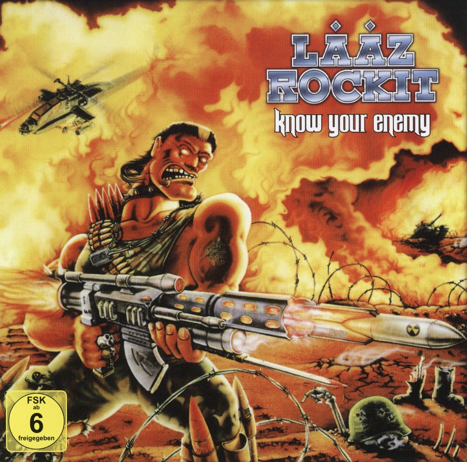 LAAZ ROCKIT (US) / Know Your Enemy (CD+DVD)