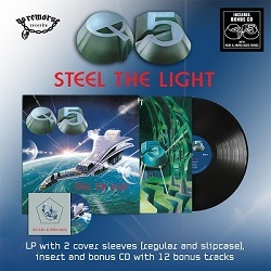 "Q5 (US) / Steel The Light (12"" vinyl incl. 2 cover sleeves) + extra CD"