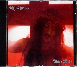 DEATH SS (Italy) / Black Mass (old reissue edition)