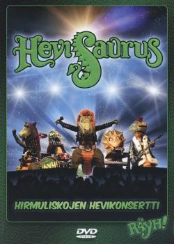 HEVISAURUS (Finland) / Hirmuliskojen Hevikonsertti (DVD)