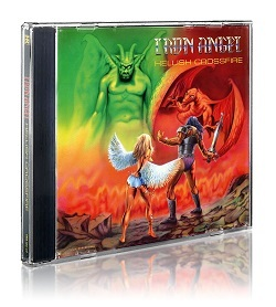 IRON ANGEL (Germany) / Hellish Crossfire (2016 reissue)