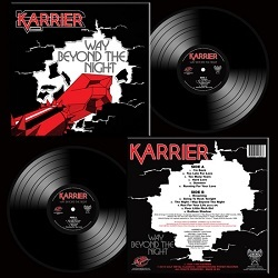 "KARRIER (UK) / Way Beyond The Night (12"" vinyl)"