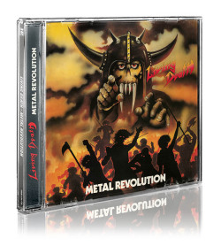 LIVING DEATH (Germany) / Metal Revolution + 7 (2014 reissue)