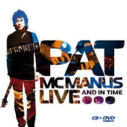 PAT McMANUS BAND (Ireland) / Live... And In Time (CD+DVD)