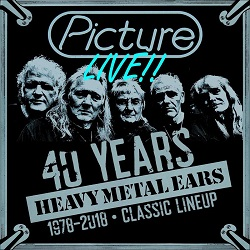 PICTURE (Netherlands) / Live!! 40 Years Heavy Metal Ears 1978-2018 Classic Lineup