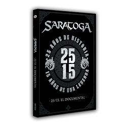 SARATOGA (Spain) / 25/15, El Documental (DVD)