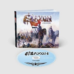 SAXON (UK) / Crusader + 9 (2018 reissue digibook)