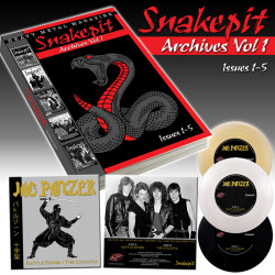 "SNAKEPIT / Archives Vol. 1: Issues 1-5 (incl. Jag Panzer 7""EP)"