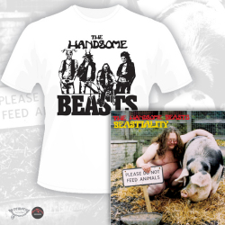 THE HANDSOME BEASTS (UK) / Beastiality + 4 (Limited edition with T-Shirt)