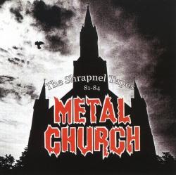 METAL CHURCH (US) / The Shrapnel Tapes 81-84