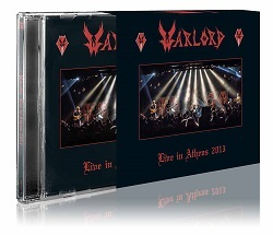 WARLORD (US) / Live In Athens 2013 (2017 reissue 2CD with slipcase)