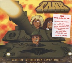 TANK (UK) / War Of Attrition Live 1981 (Expanded Edition)