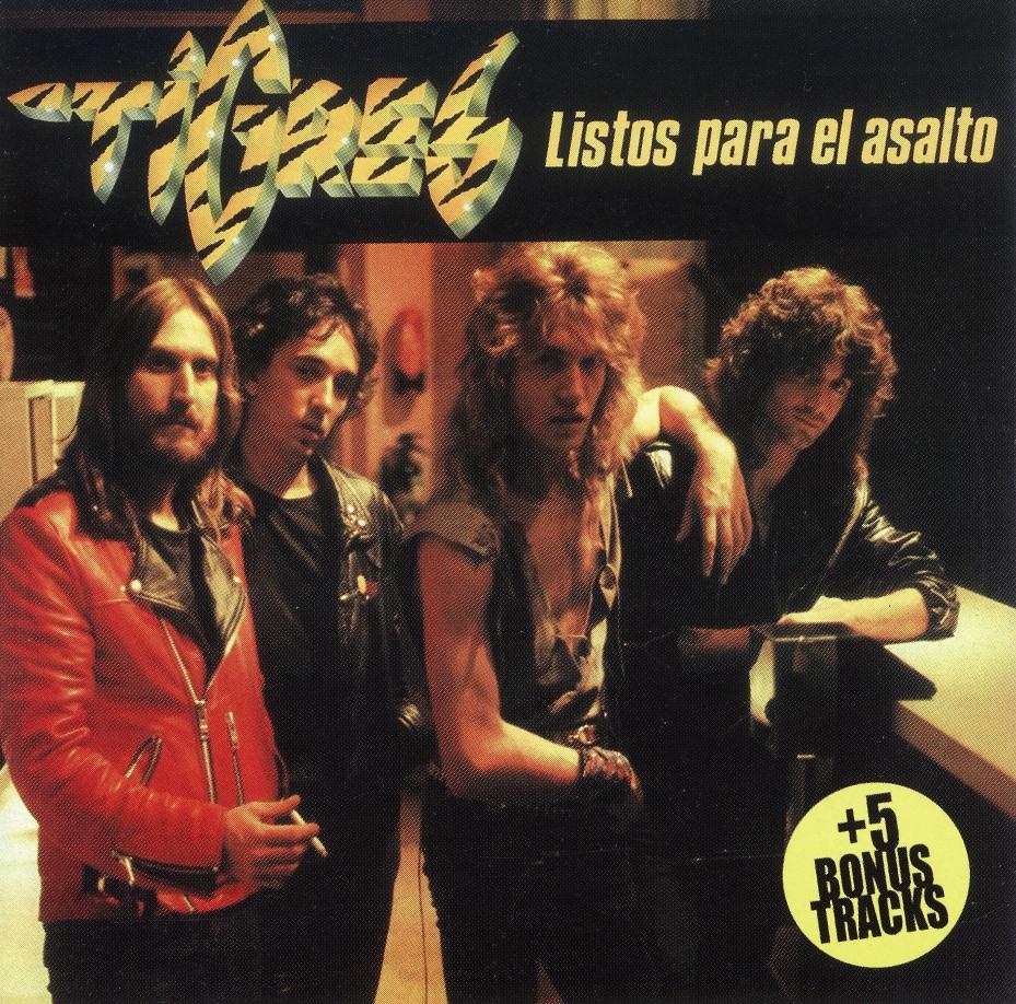 TIGRES (Spain) / Listos Para El Asalto + 5 (collector's item)