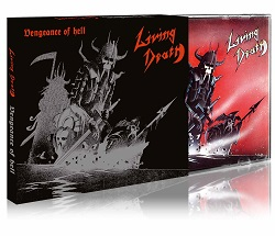 LIVING DEATH (Germany) / Vengeance Of Hell + 9 (2019 reissue)