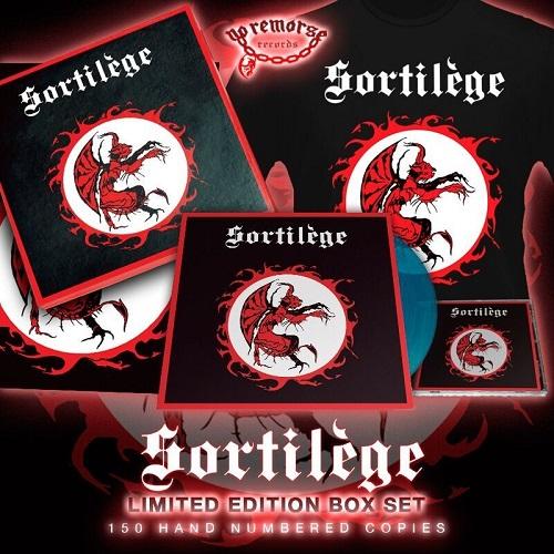SORTILEGE (France) / Sortilege + 4 demo tracks (Limited box set)