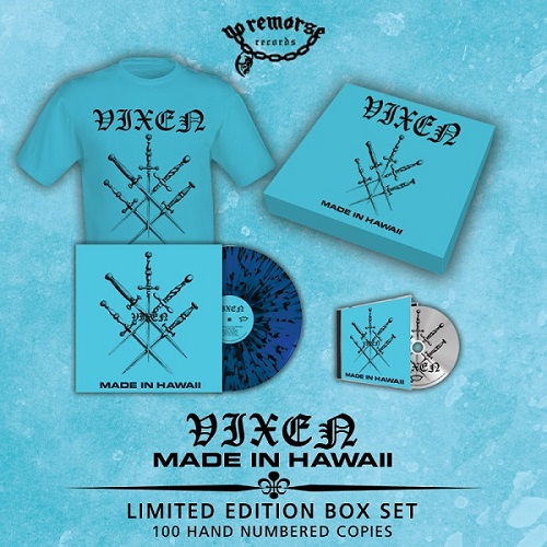VIXEN (US) / Made In Hawaii (Limited box set)