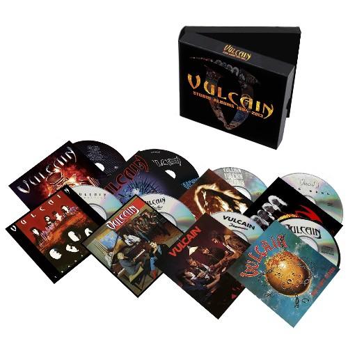 VULCAIN (France) / Studio Albums 1984-2013 (8CD box set)