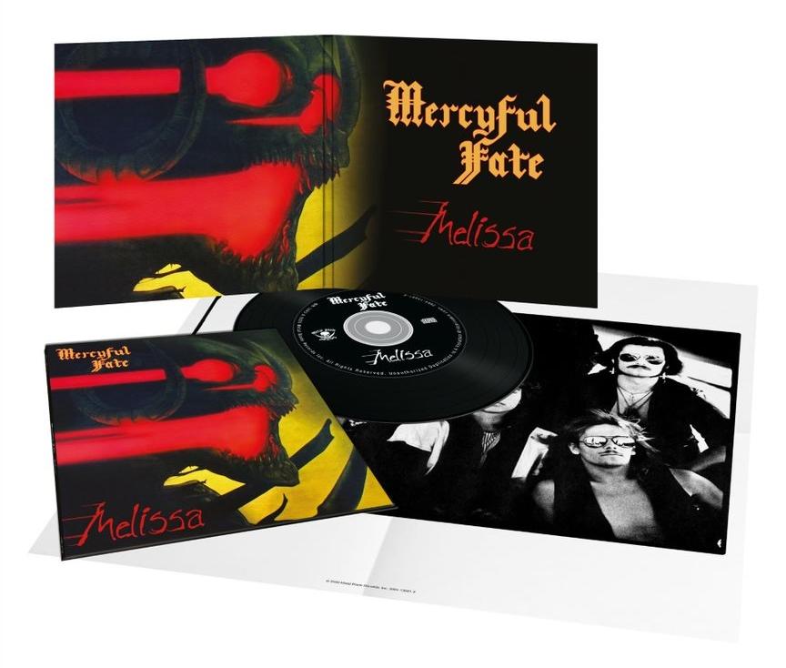MERCYFUL FATE (Denmark) / Melissa (2020 reissue digipak)