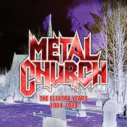 METAL CHURCH (US) / The Elektra Years 1984-1989 (3CD remastered gatefold digisleeve)