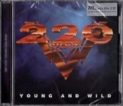 220 VOLT (Sweden) / Young And Wild (2018 reissue)