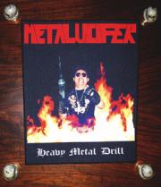 METALUCIFER(Japan) / Heavy Metal Drill (Back Patch)