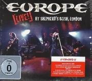 EUROPE(Sweden) / Live! - At Shepherd's Bush, London (CD+DVD)