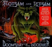FLOTSAM AND JETSAM (US) / Doomsday For The Deceiver + 4 (Limited edition 2018 digipak reissue)